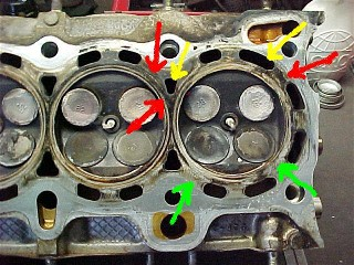 Leaking cylinder head gasket