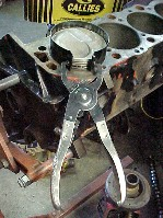 pliers type pison ring compressor